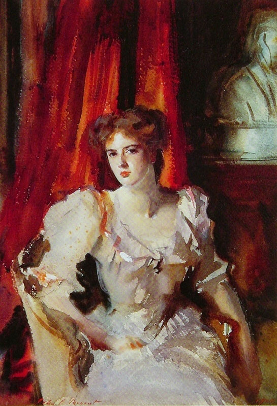 John Singer Sargent >> Miss Eden  |  (Oil, artwork, reproduction, copy, painting).