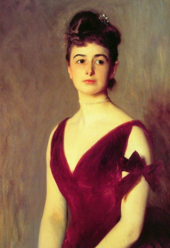 John Singer Sargent >> Mrs Charles E. Inches  |  (Oil, artwork, reproduction, copy, painting).