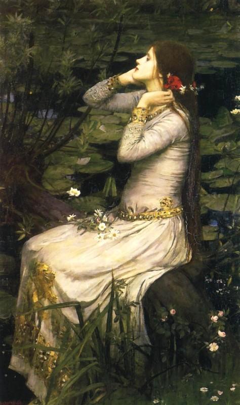 John William Waterhouse >> Ophelia2 | (Oil, artwork ...  John William Wa...