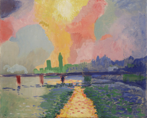 André derain >> charing cross bridge 1 | (oil, artwork, reproduction