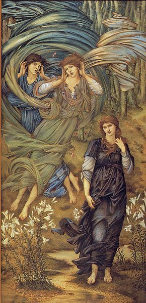 Edward Coley Burne-Jones - Painting of Sponsa de Libano