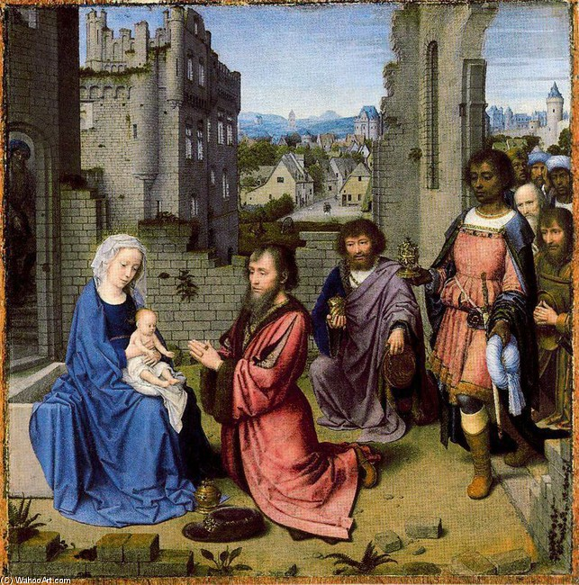 Gerard David - The Adoration of the Kings