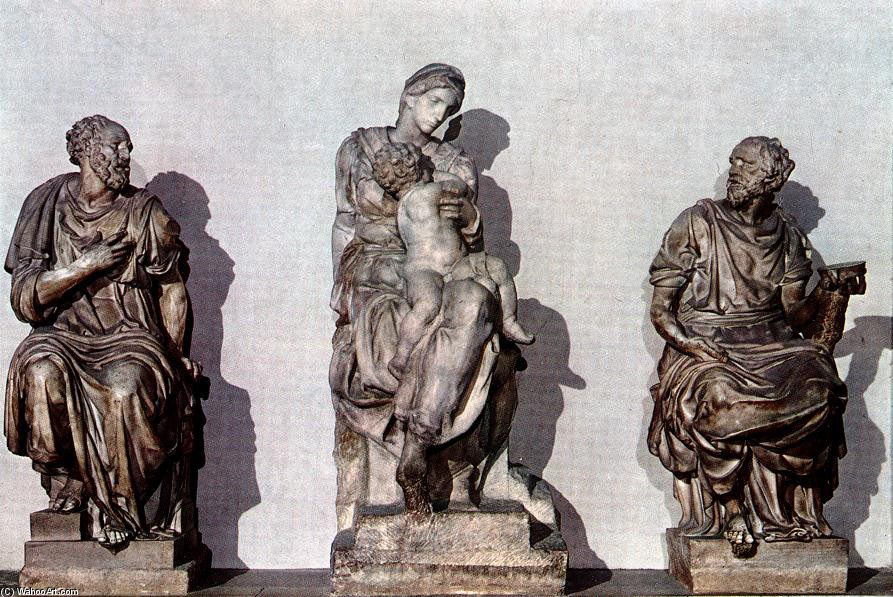 what was the relationship between michelangelo and medici family