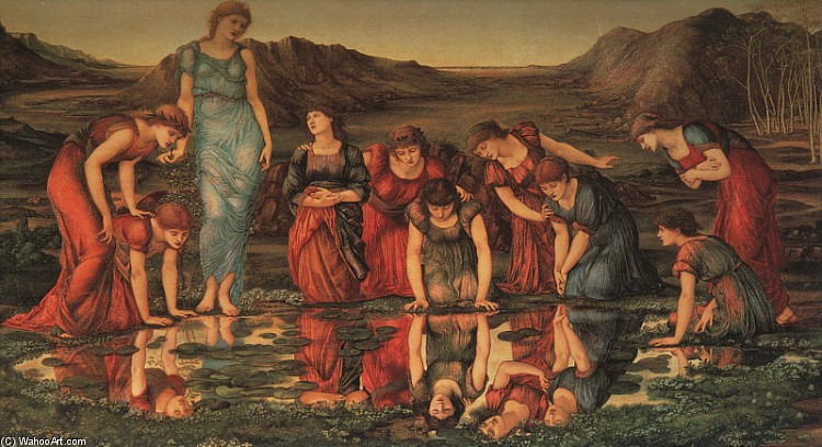 The Mirror of Venus (Edward Burne-Jones)