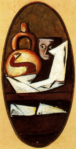 Max Beckmann - Still Life with Mexican Figure