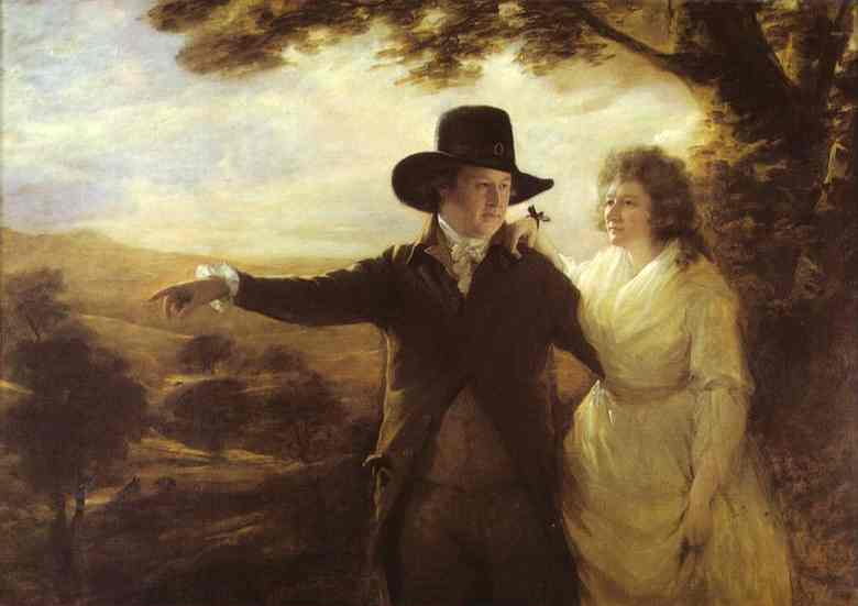 Sir Henry Raeburn >> Portrait of Sir John and Lady Clerk of Penicuik  |  (, artwork, reproduction, copy, painting).