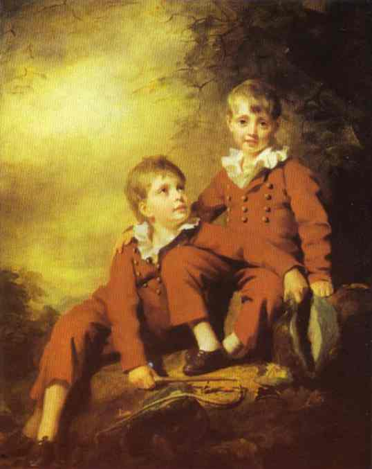 Sir Henry Raeburn - Portrait of the Binning Children
