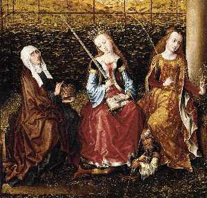 Master Of The View Of Ste Gudule (Meester Van Het Gezicht Op Sint Goedele)