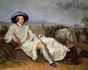 Johann Heinrich Wilhelm Tischbein (Goethe Tischbein)