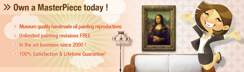 Museum quality reproductions - Order your hand painted museum quality oil reproduction today. We'll paint any painting from any image in any size.