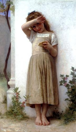 In penance by William Adolphe Bouguereau (1825-1905, France) | Museum Quality Reproductions | WahooArt.com