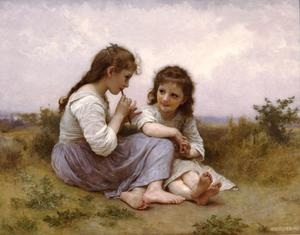 William Adolphe Bouguereau - Idylle child