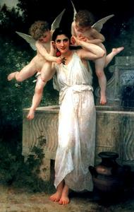 William Adolphe Bouguereau - Youth