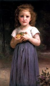 William Adolphe Bouguereau - Maiden and Children