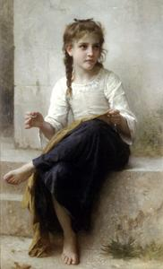 William Adolphe Bouguereau - The seamstress
