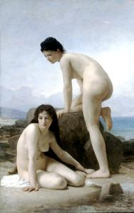 William Adolphe Bouguereau - The two bathers