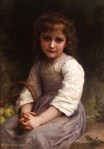 William Adolphe Bouguereau - Apples