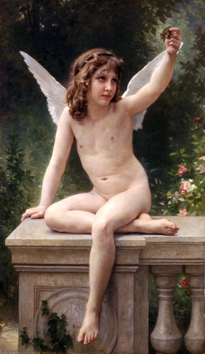 The captive by William Adolphe Bouguereau (1825-1905, France) | Museum Quality Reproductions | WahooArt.com