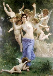 William Adolphe Bouguereau - The nest