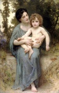 William Adolphe Bouguereau - The younger brother