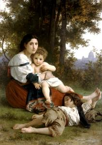 William Adolphe Bouguereau - Rest