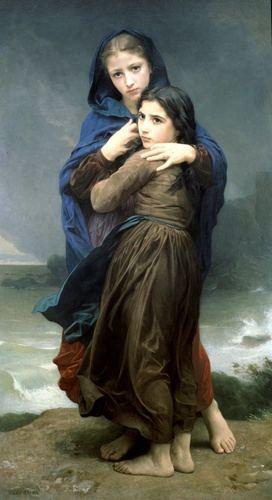 Lorage, Oil by William Adolphe Bouguereau (1825-1905, France)