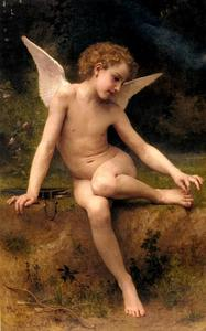 William Adolphe Bouguereau - The Love AL Thorn