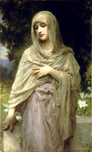 William Adolphe Bouguereau - Modesty