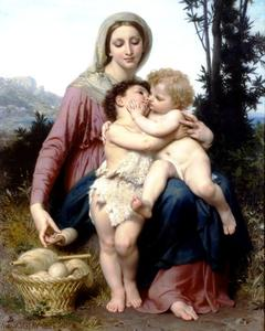 William Adolphe Bouguereau - Holy Family