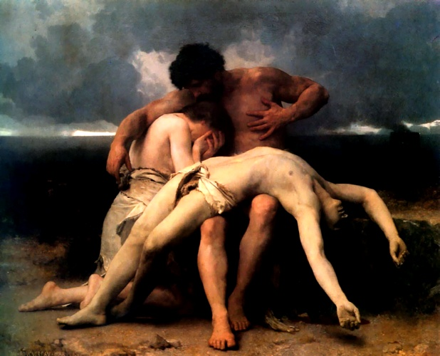 The First Mourning by William Adolphe Bouguereau (1825-1905, France) | Art Reproduction | WahooArt.com