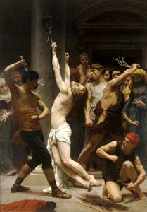 William Adolphe Bouguereau - The Flagellation of Christ