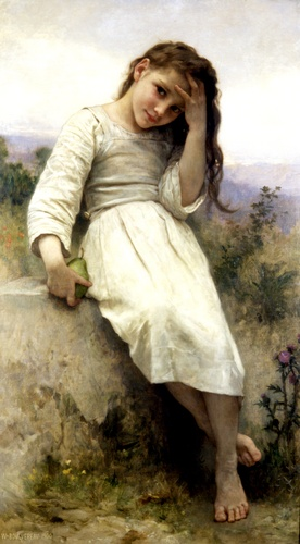 The Little Marauder 1900 by William Adolphe Bouguereau (1825-1905, France) | Museum Quality Reproductions | WahooArt.com