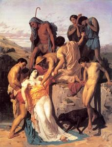 William Adolphe Bouguereau - Zenobia Found by Shepherds