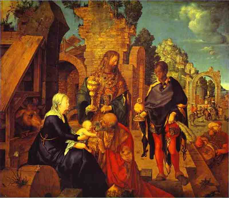 adoration Of The Magi, florence by Albrecht Durer (1471-1528, Italy) | Painting Copy | WahooArt.com