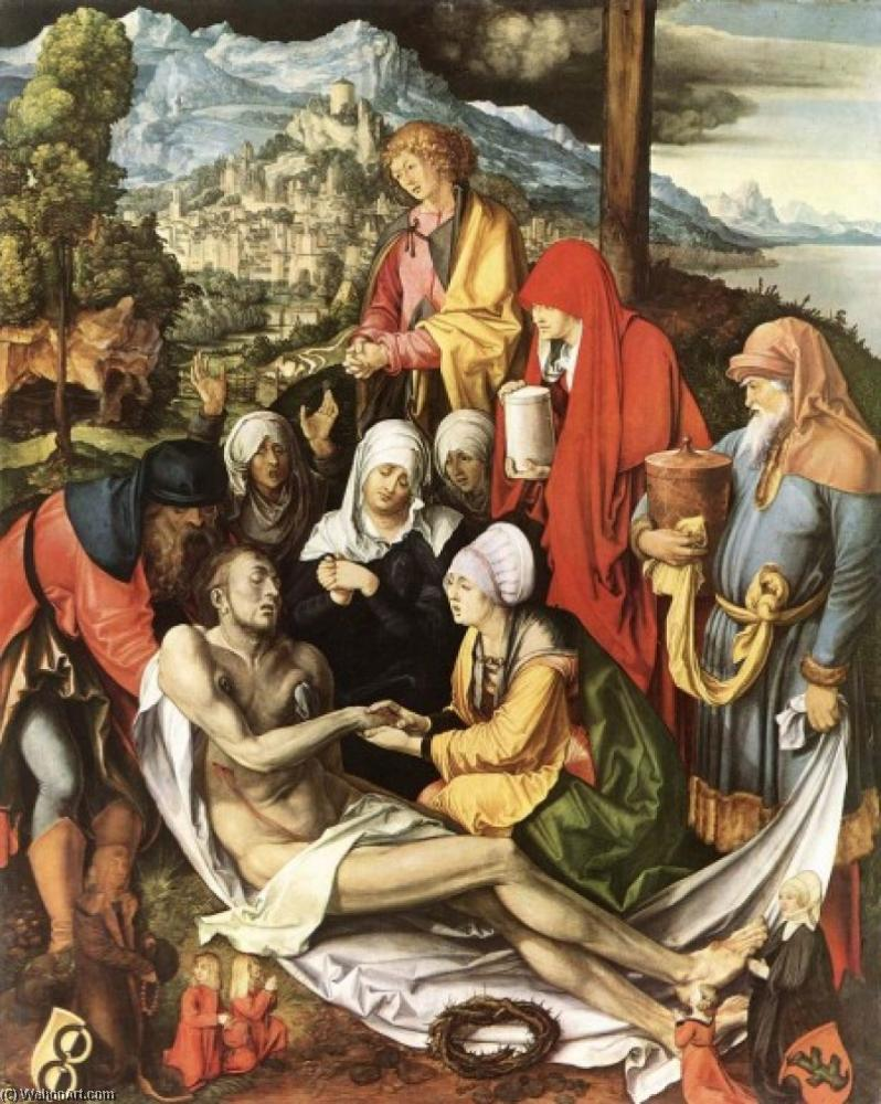 Lamentation for Christ, Oil On Panel by Albrecht Durer (1471-1528, Italy)