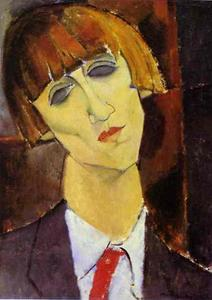 Amedeo Modigliani - Portrait of Madame Kisling