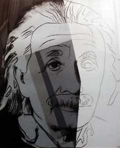 Andy Warhol - Albert Einstein