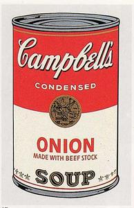 Andy Warhol - Campbell-S Soup Can (onion)