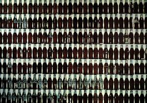 Andy Warhol - Green Coca-Cola Bottles