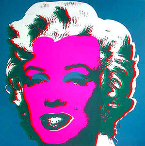 Andy Warhol - Marilyn Blue
