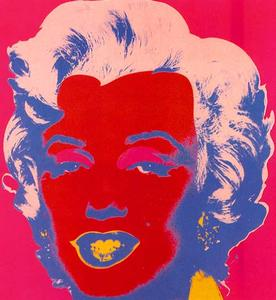 Andy Warhol - Marylin Red