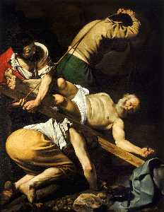 Caravaggio (Michelangelo Merisi) - The Crucifixion Of Saint Peter