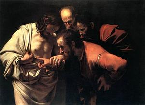 Caravaggio (Michelangelo Merisi) - The Incredulity Of Saint Thomas