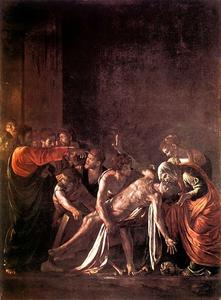 Caravaggio (Michelangelo Merisi) - The Raising Of Lazarus