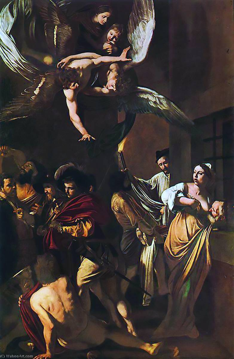 The Seven Acts Of Mercy, Oil On Canvas, Oil by Caravaggio (Michelangelo Merisi) (1571-1610, Spain)