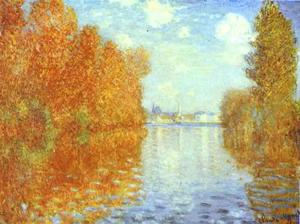 Claude Monet - Autumn at Argenteuil