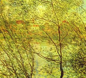 Claude Monet - Banks of the Seine