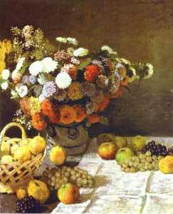 Claude Monet - Flowers and Fruits