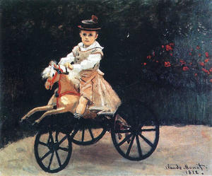 Claude Monet - Jean Monet on a Mechanical Horse