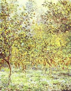 Claude Monet - Lemon-Trees. Bordighera